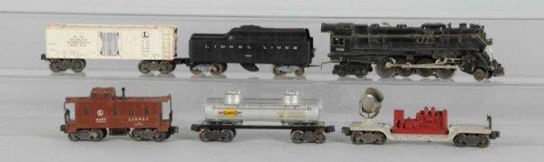 1621: Lionel No. 736 O-Gauge Berkshire Freight Set.