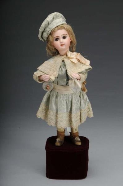 2201: French Bisque Automaton Doll