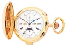 14K PINK GOLD SWISS GRAND COMPLICATIONS MINUTE