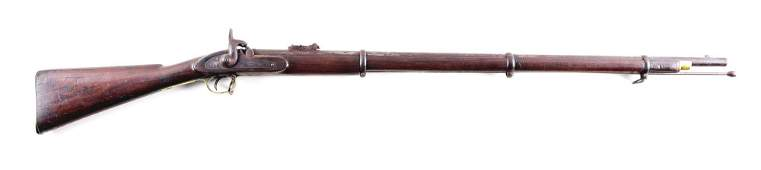 A ENFIELD MODEL 1862 PERCUSSION RIFLE