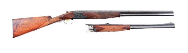 (M) BROWNING SUPERPOSED CONTINENTAL EXPRESS WITH RIFLE