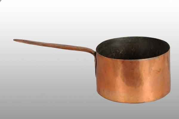 20: Copper Dove-Tailed Pot & Handle.