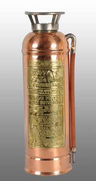 22: Brass & Copper Fire Extinguisher Body.