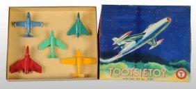 900: Cast Metal Tootsie Toy Airplane Set.