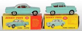 901: Lot of 2: Dinky Toys Die-Cast Ford Cars.