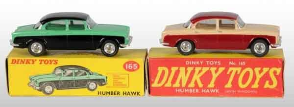903: Lot of 2: Dinky Toys Die-Cast Automobiles.