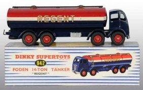 904: Dinky Super Toys Die-Cast No. 942 Regent Tanker.