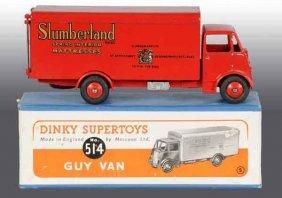 Dinky Toys Die-Cast No. 514 Slumberland Guy Van.