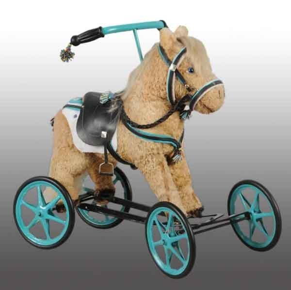 910A: Child's Horse Coaster Rider.