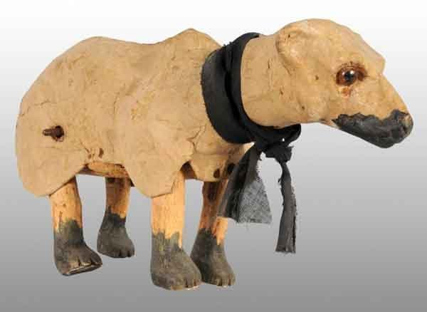 916: De Camp Clockwork Polar Bear Toy.