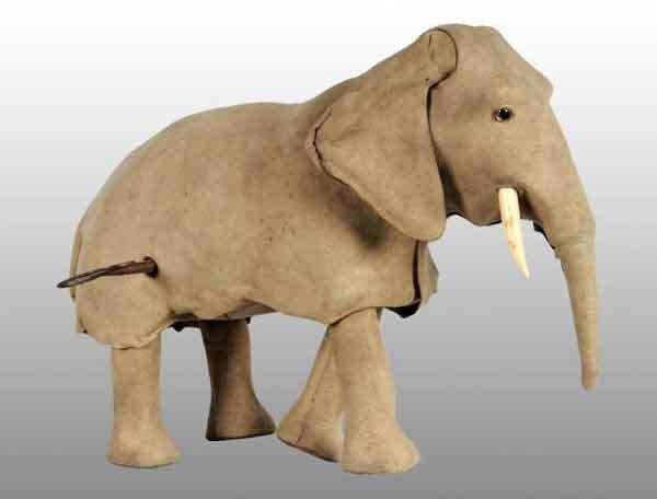917: De Camp Clockwork Elephant Toy.