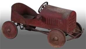 1659: Pressed Steel Sidway Topliff Pontiac Pedal Car.
