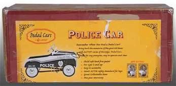 1796: Pressed Steel Police Pedal Car.