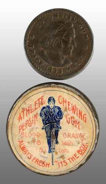 1908: Lot of 2: Gum Tins.
