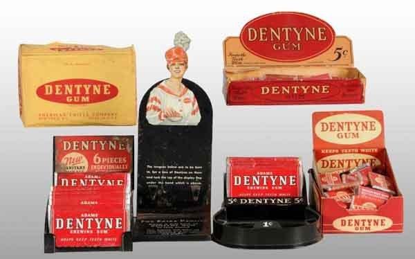 1916: Lot of 4: Dentyne Gum Displays.