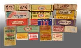 2014 Lot of Assorted Gum Packs  Sticks