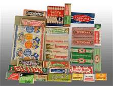 2027 Lot of Assorted Gum Packs  Wrappers
