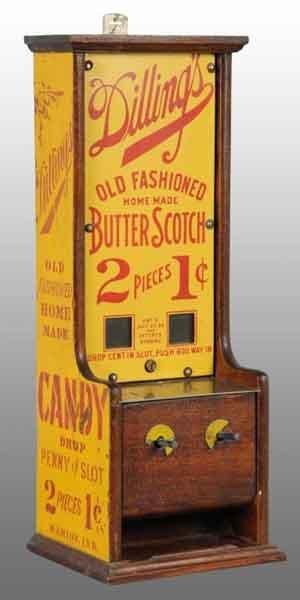2109: Dilling's Butter Scotch Candy Dispenser.