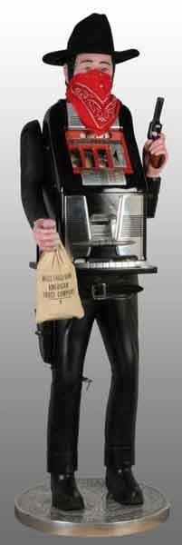 2199: Mills Dick Delong 50-Cent Bandit Slot Machine.