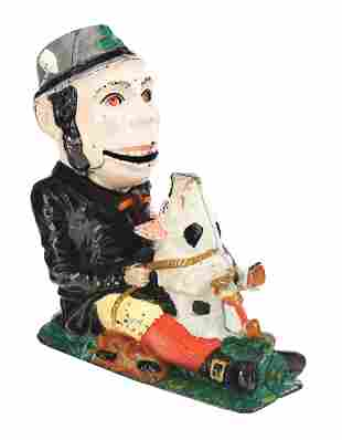 PADDY AND PIG MECHANICAL BANK.