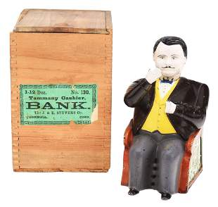 GRAY PANTS TAMMANY MECHANICAL BANK.