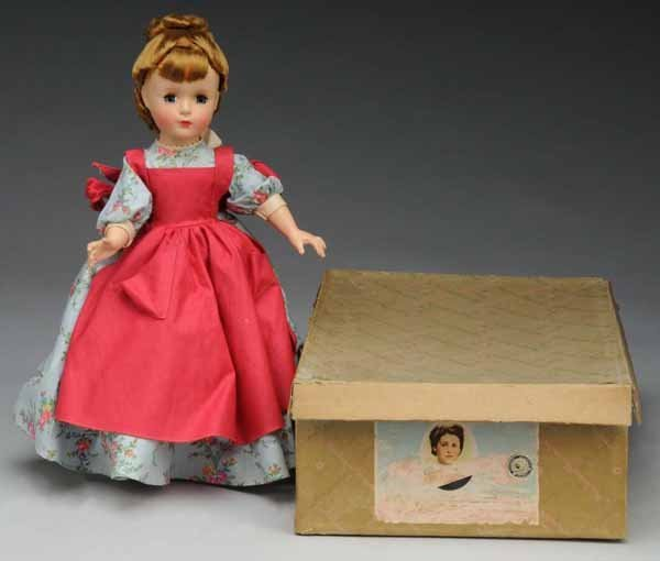 5: Hard Plastic Alexander Little Women Meg Doll.