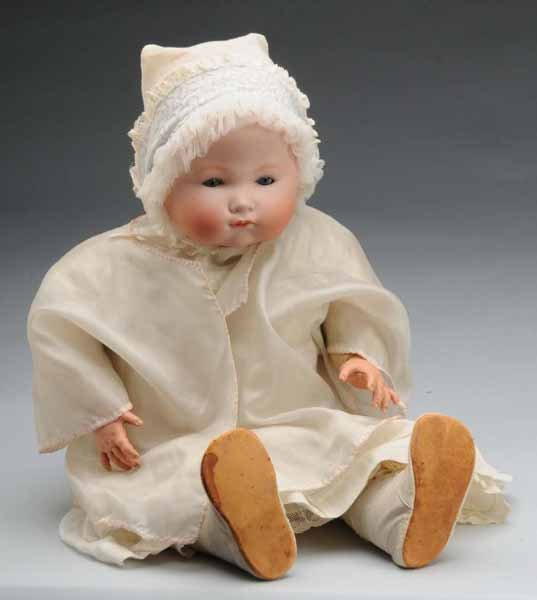 15: German Bisque Infant Doll.