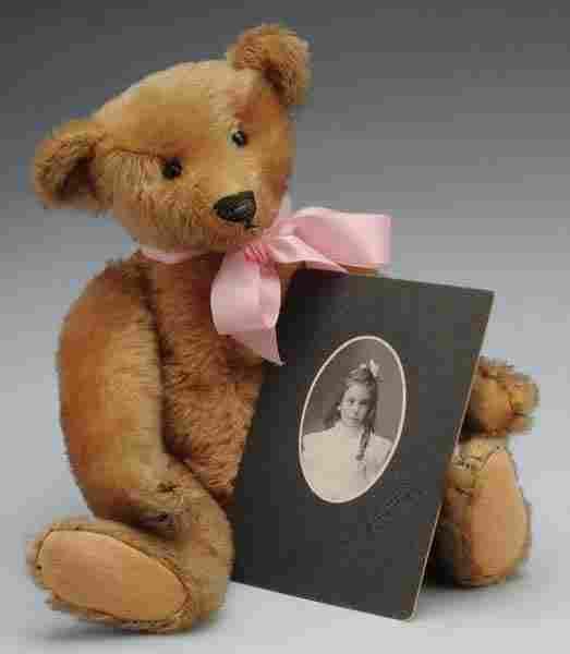 348: Early Steiff Teddy Bear with Provenance.