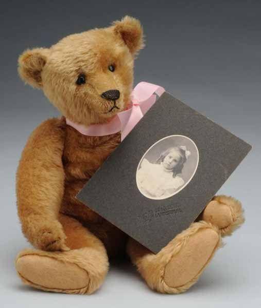 349: Early Steiff Teddy Bear with Provenance.