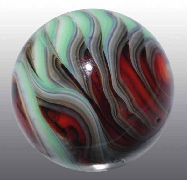1114: Christensen Flame Marble.