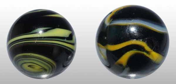 1119: Lot of 2: Christensen Marbles.