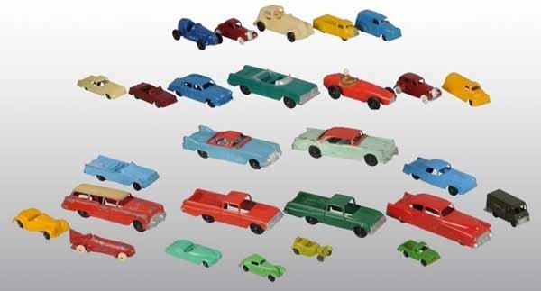 2106: Lot of 27: Tootsie Toy Die-Cast Cars & Trucks.