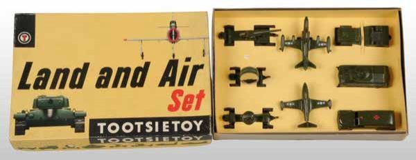 2115: Lot of 2: Tootsie Toy Die-Cast Sets.