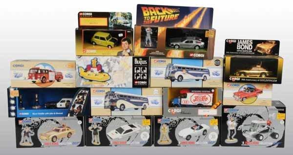 2119: Lot of 13: Contemporary Corgi Classic Toys.