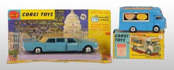 2121: Lot of 2: Corgi Vehicle Die-Cast Toys.