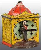 2671 Cast Iron Halls Liliput Mechanical Bank