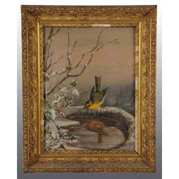 2: Lot of 2: Oil Paintings of Birds.
