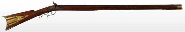 19: Kentucky Long Rifle by Moll.