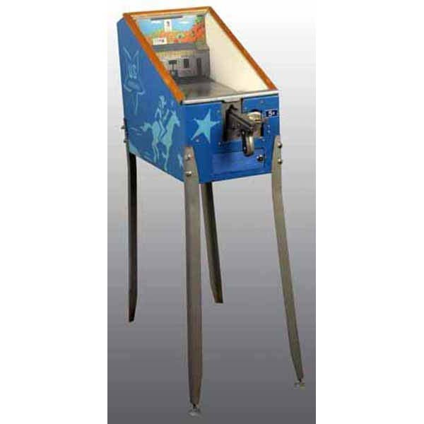 754: US Marshal 5-Cent Coin-Op Arcade Shooting Game.