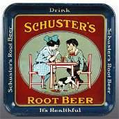 877 Schusters Root Beer Serving Tray