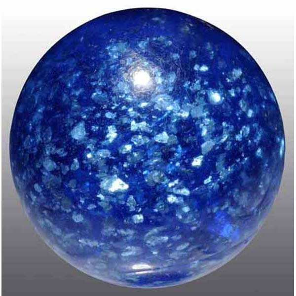 1019: Blue Mica Marble.