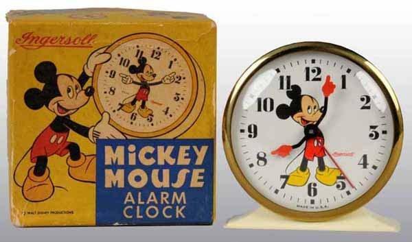 2004: Disney Mickey Mouse Alarm Clock in Original Box.
