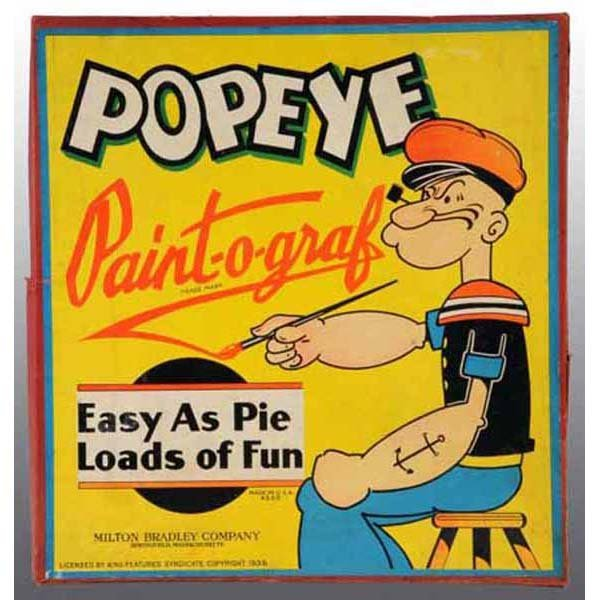 2016: Popeye Paint-O-Graph Toy in Original Box.
