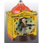 2805 Cast Iron Halls Liliput Mechanical Bank