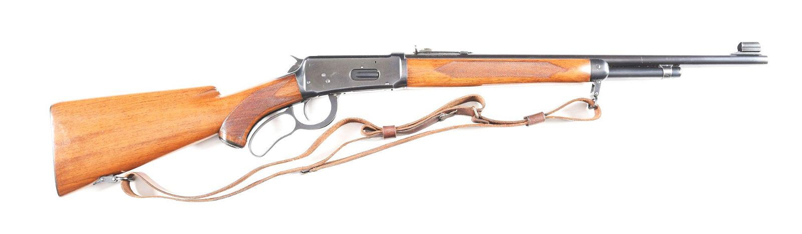 (C) WINCHESTER MODEL 64 DELUXE LEVER ACTION CARBINE IN