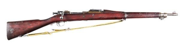 (C) REMINGTON MODEL 1903 BOLT ACTION RIFLE.
