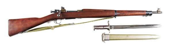 (C) REMINGTON MODEL 1903-A3 BOLT ACTION RIFLE.