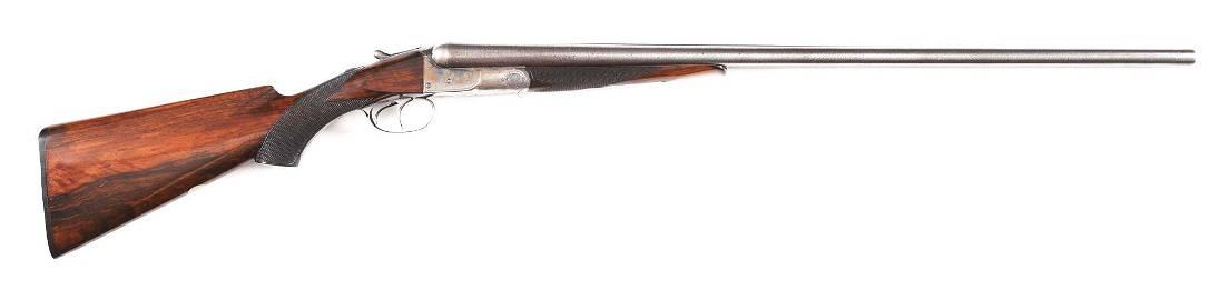 (A) COLT 1883 SIDE BY SIDE 12 GAUGE SHOTGUN WITH