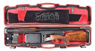 (M) CASED CAESAR GUERINI SUMMIT OVER-UNDER SHOTGUN.