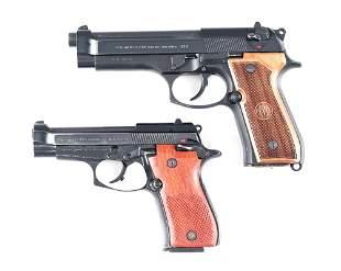 (M) LOT OF 2: BERETTA 92FS AND 84F SEMI AUTOMATIC